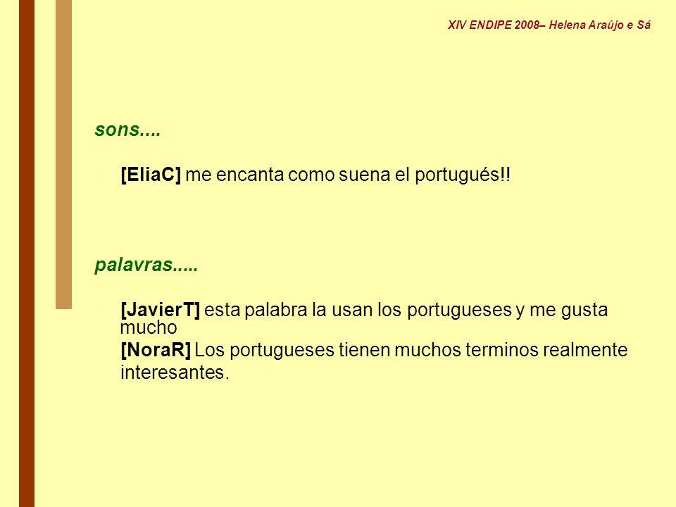[EliaC] me encanta como suena el portugués!!